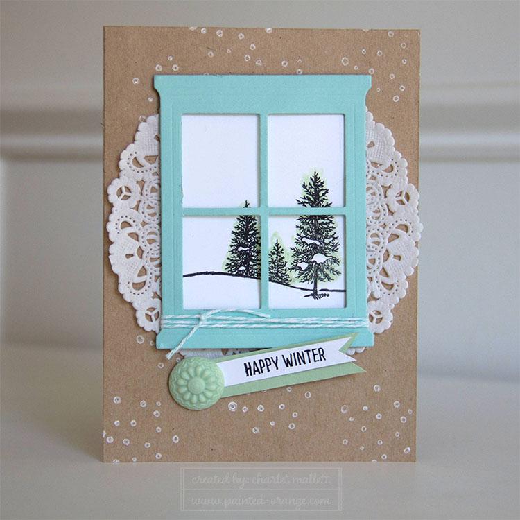 Happy Scenes winter card - WWYS #38