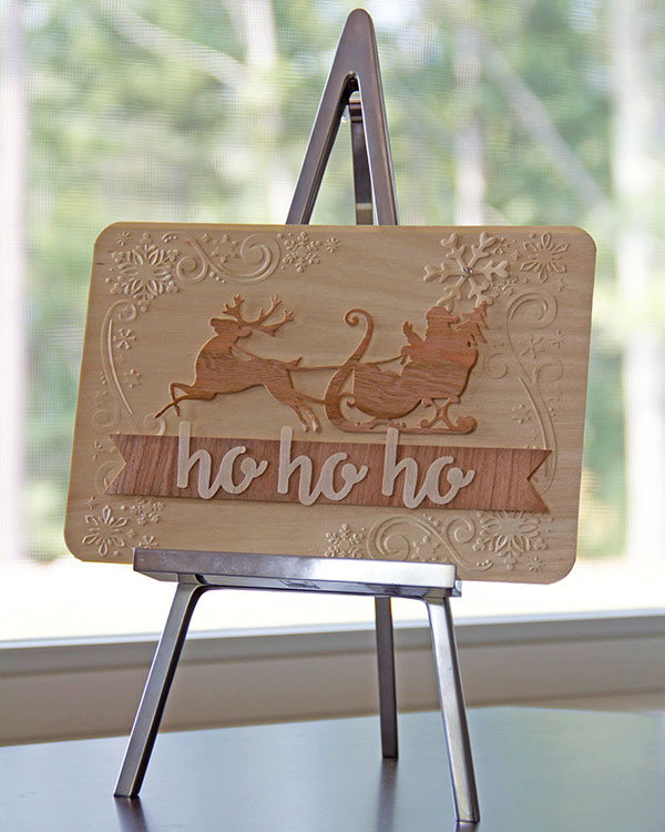 Ho Ho Ho Home Decor with BARC Wood