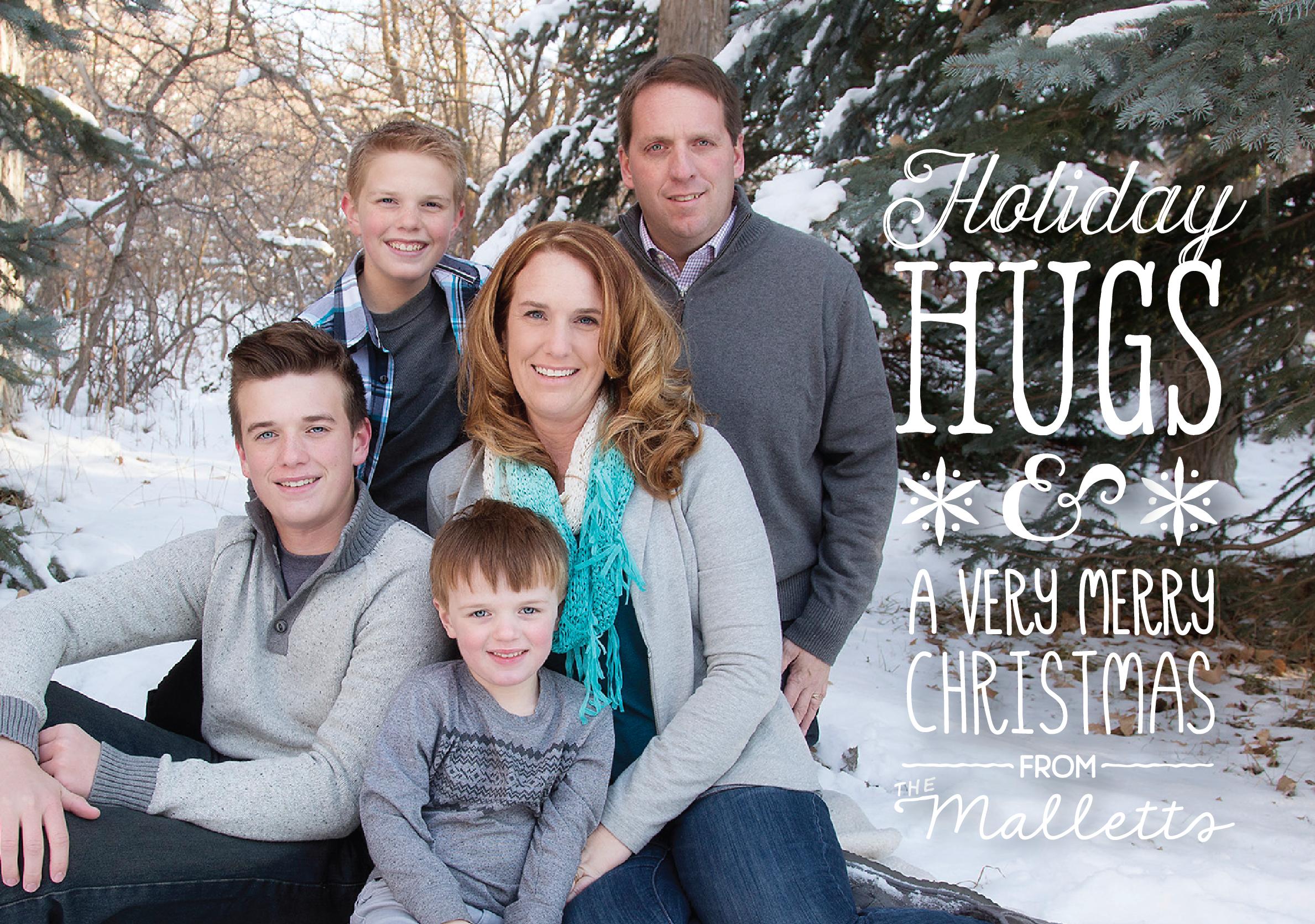 Mallett 2015 Christmas Card front