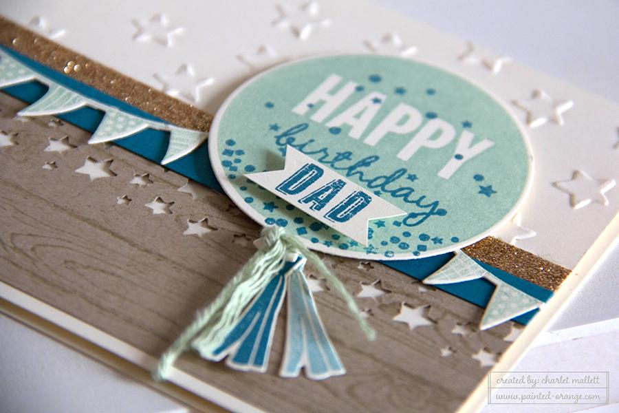 Celebrate Today birthday card detail