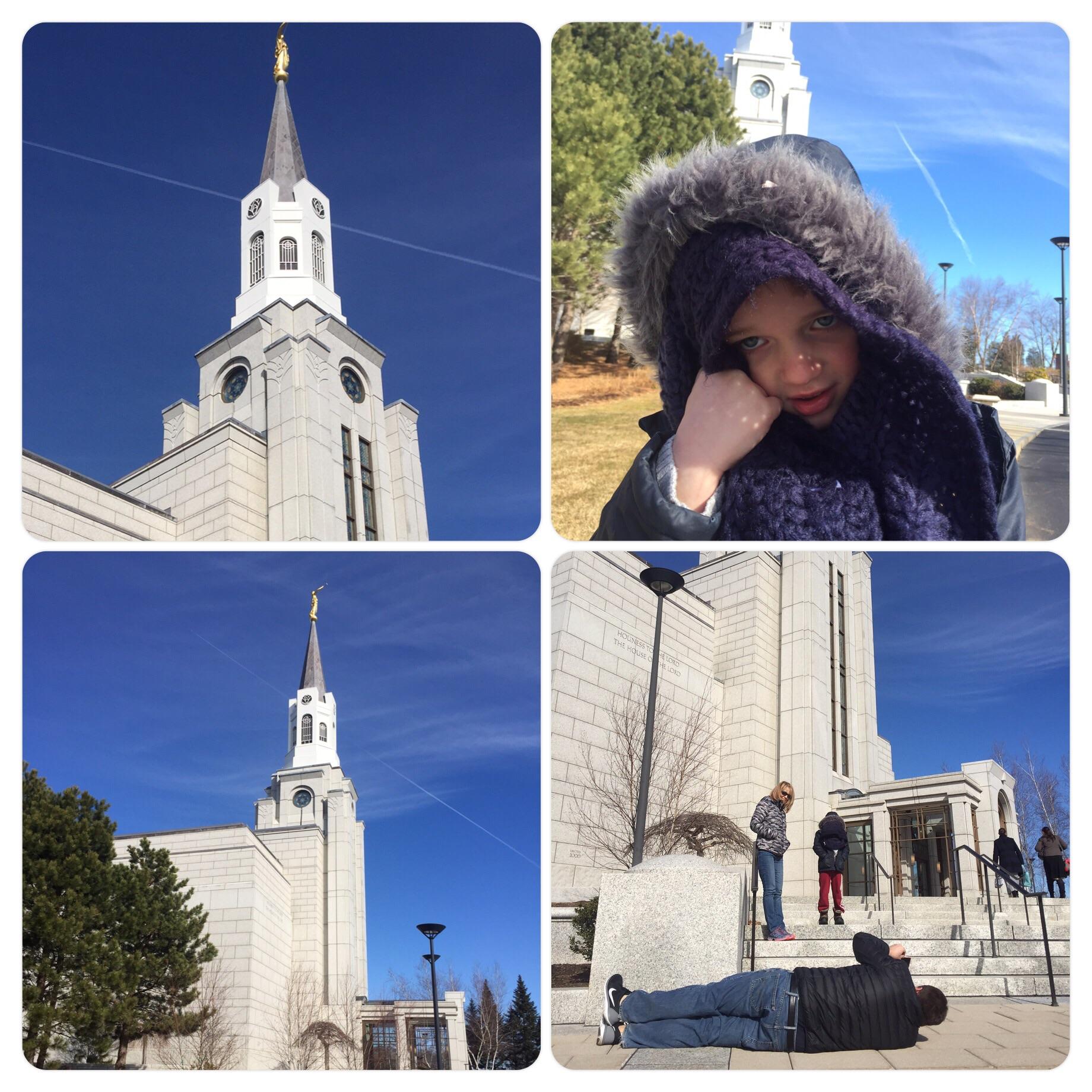 LDS Boston Temple in Belmont