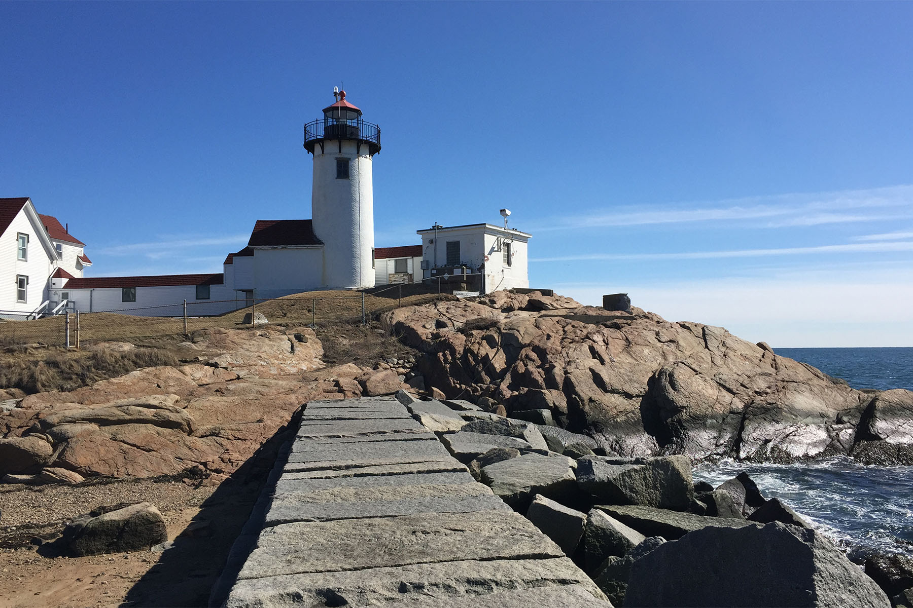 Eastern Point Lighthouse in Gloucester, MA 2/2016