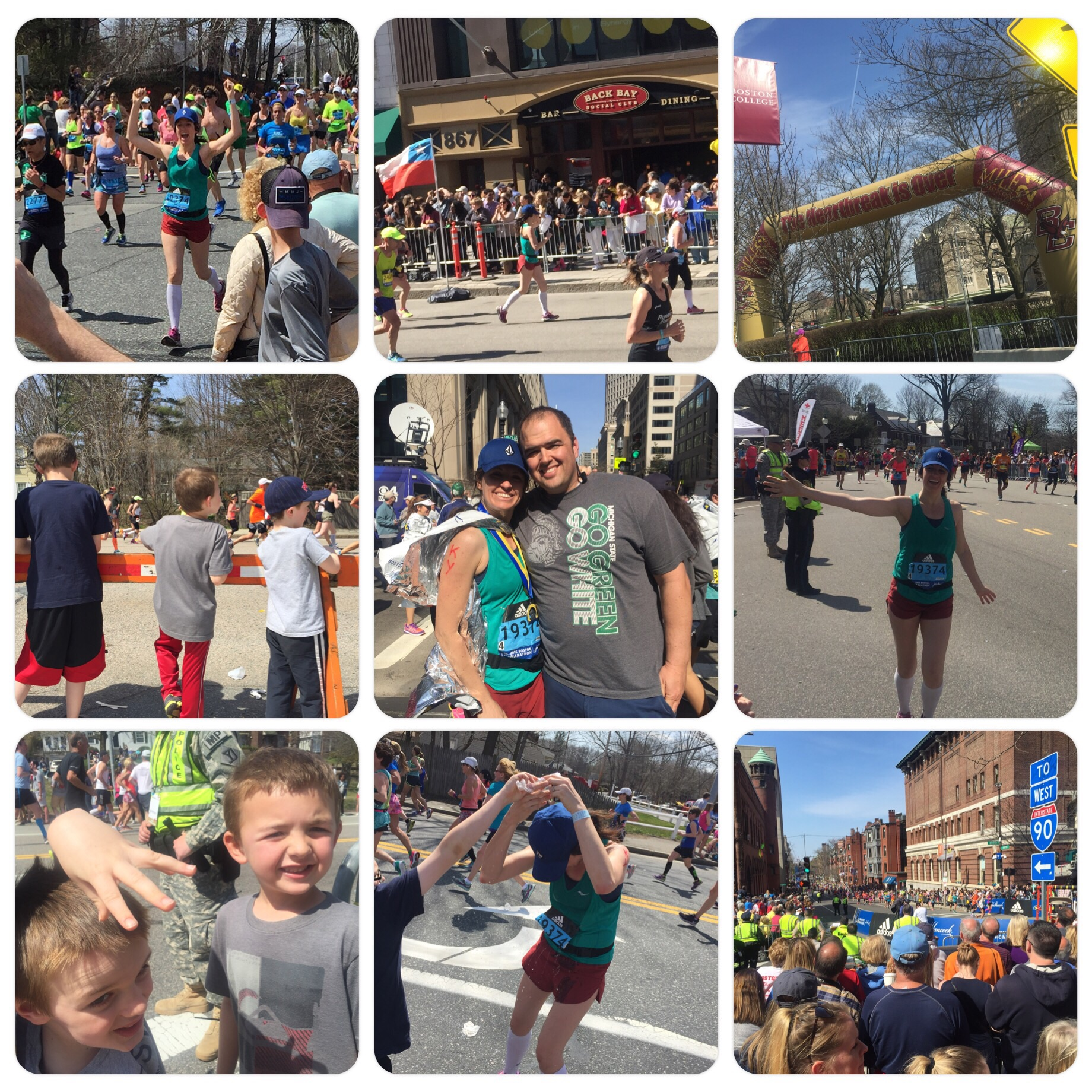 120th Boston Marathon - KY is AMAZING!