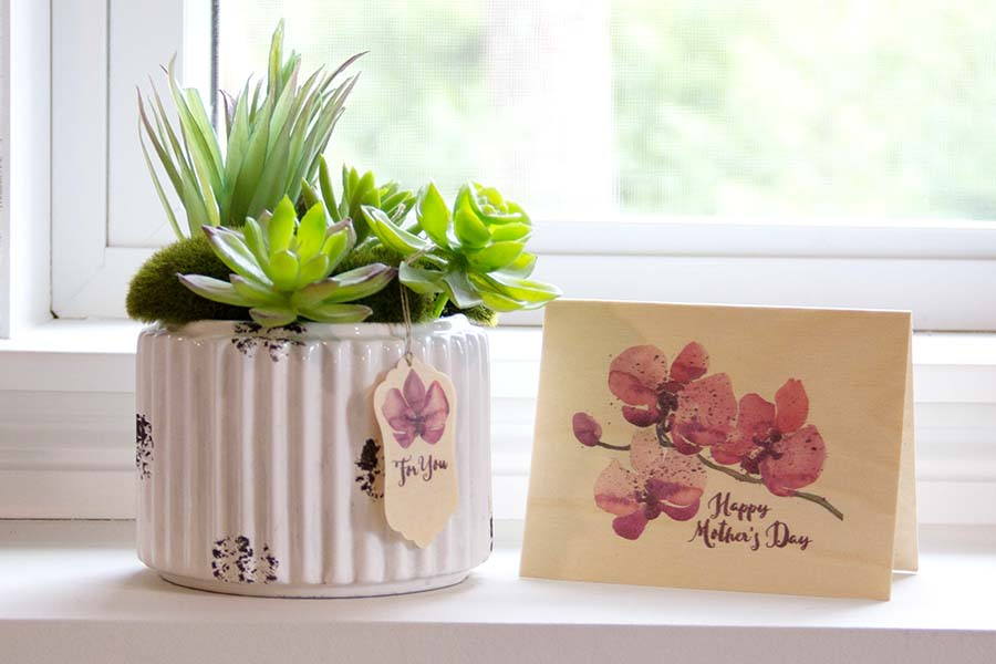 Mother's Day Card and Gift tag