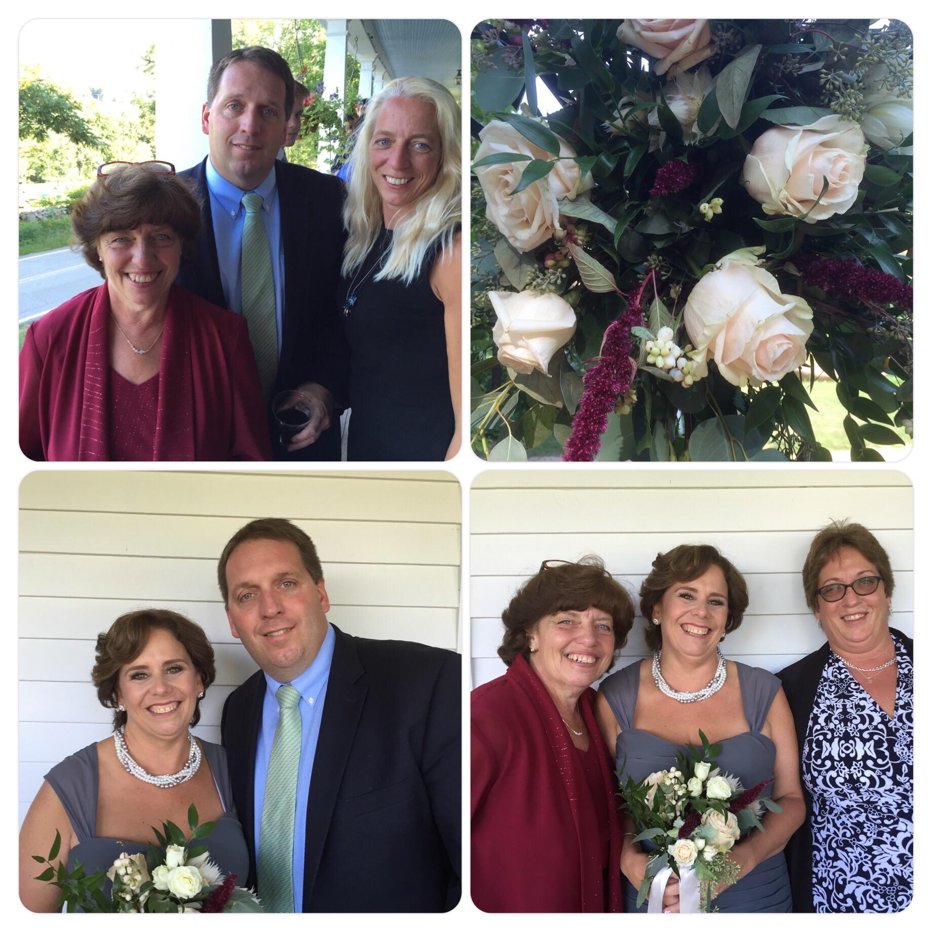Chris' family: Leslie, Megan, Renetta & Kim.
