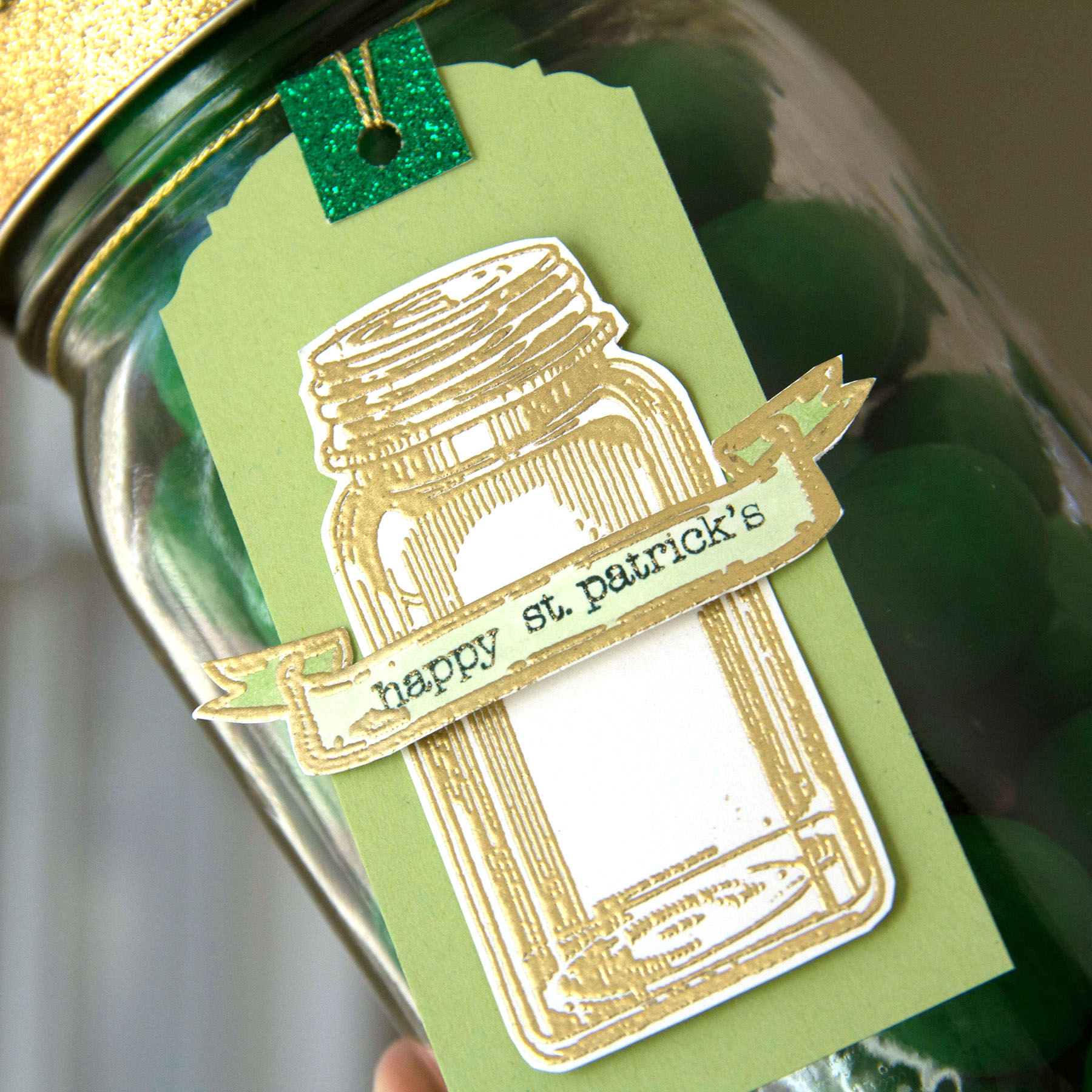 Lucky St. Patrick's Gift Tag