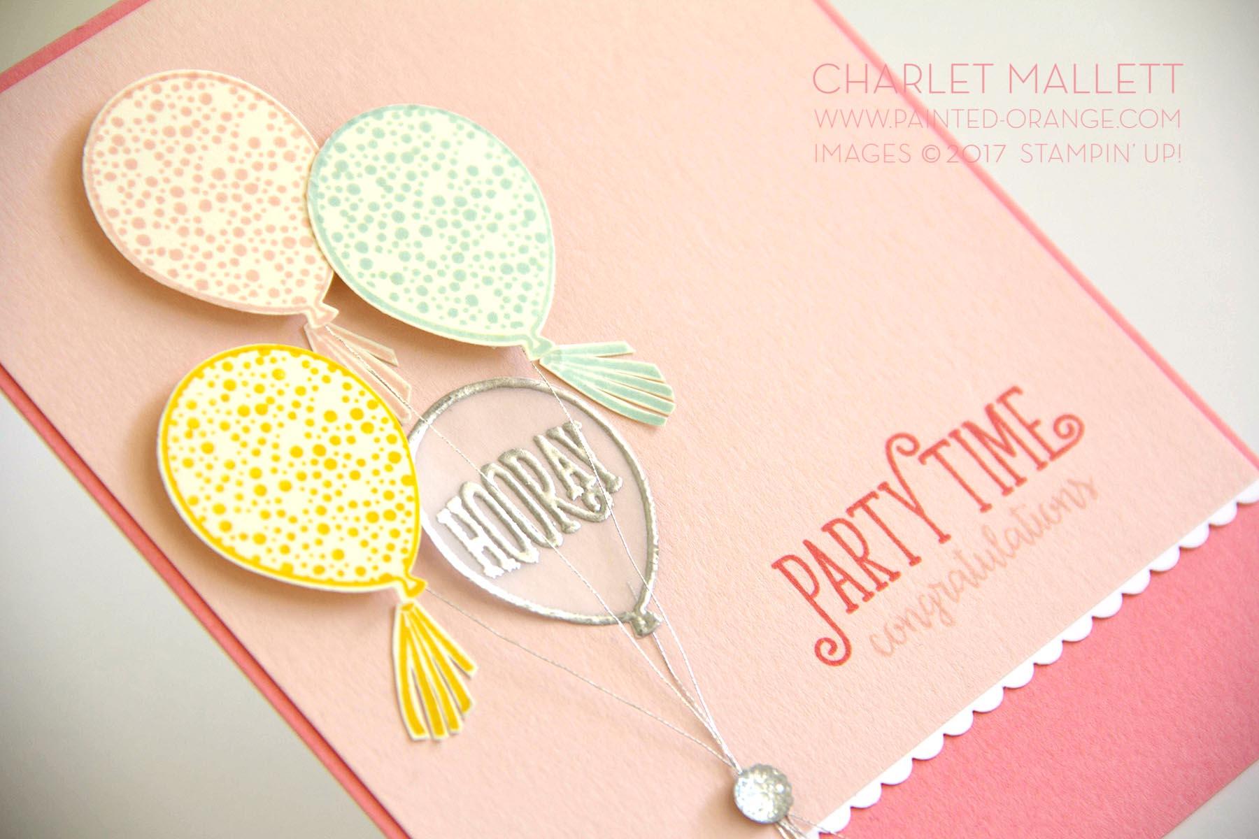 Happy Birthday Gorgeous - Charlet Mallett, Stampin' Up!