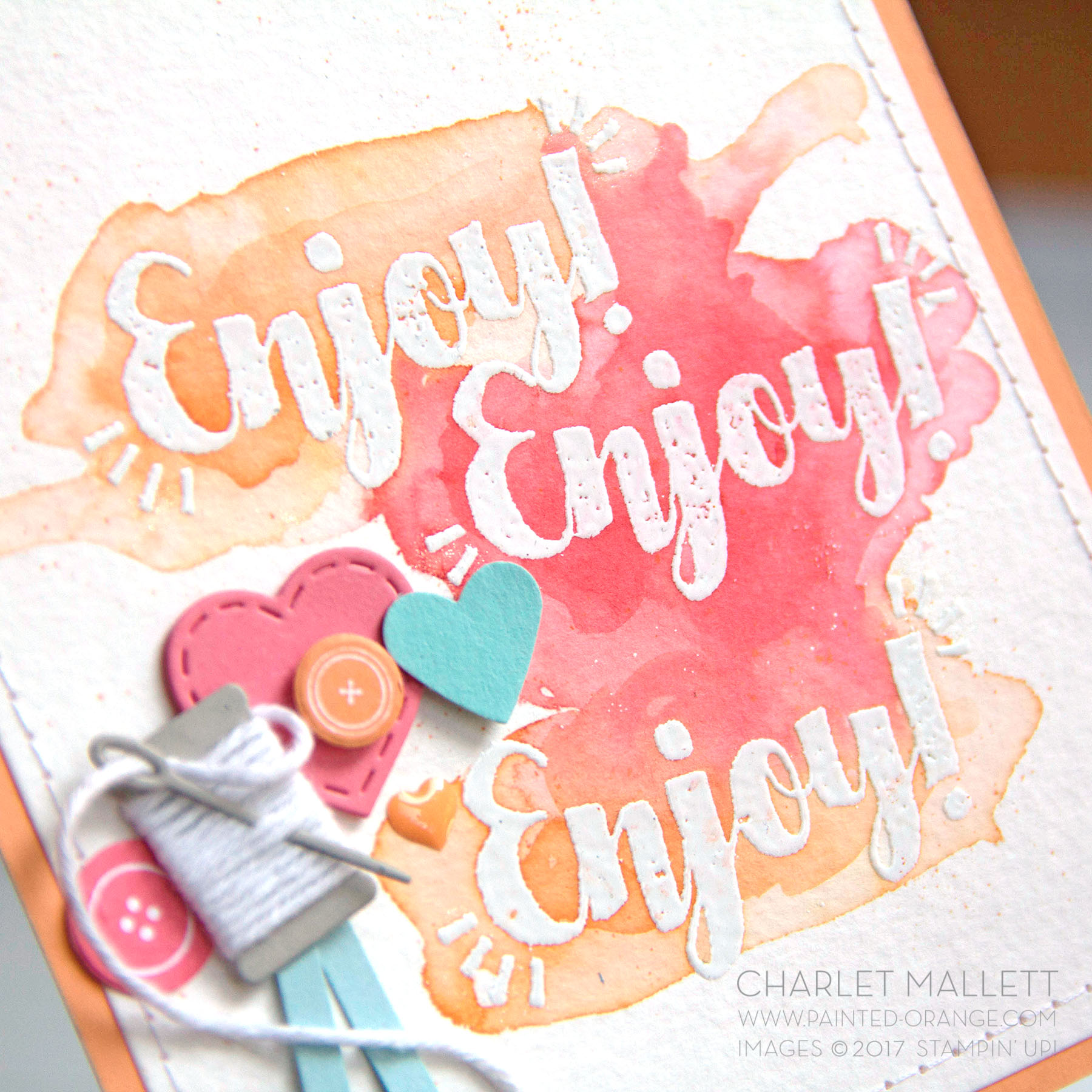 Tags & Trimmings stamp set - Charlet Mallett #GDP100