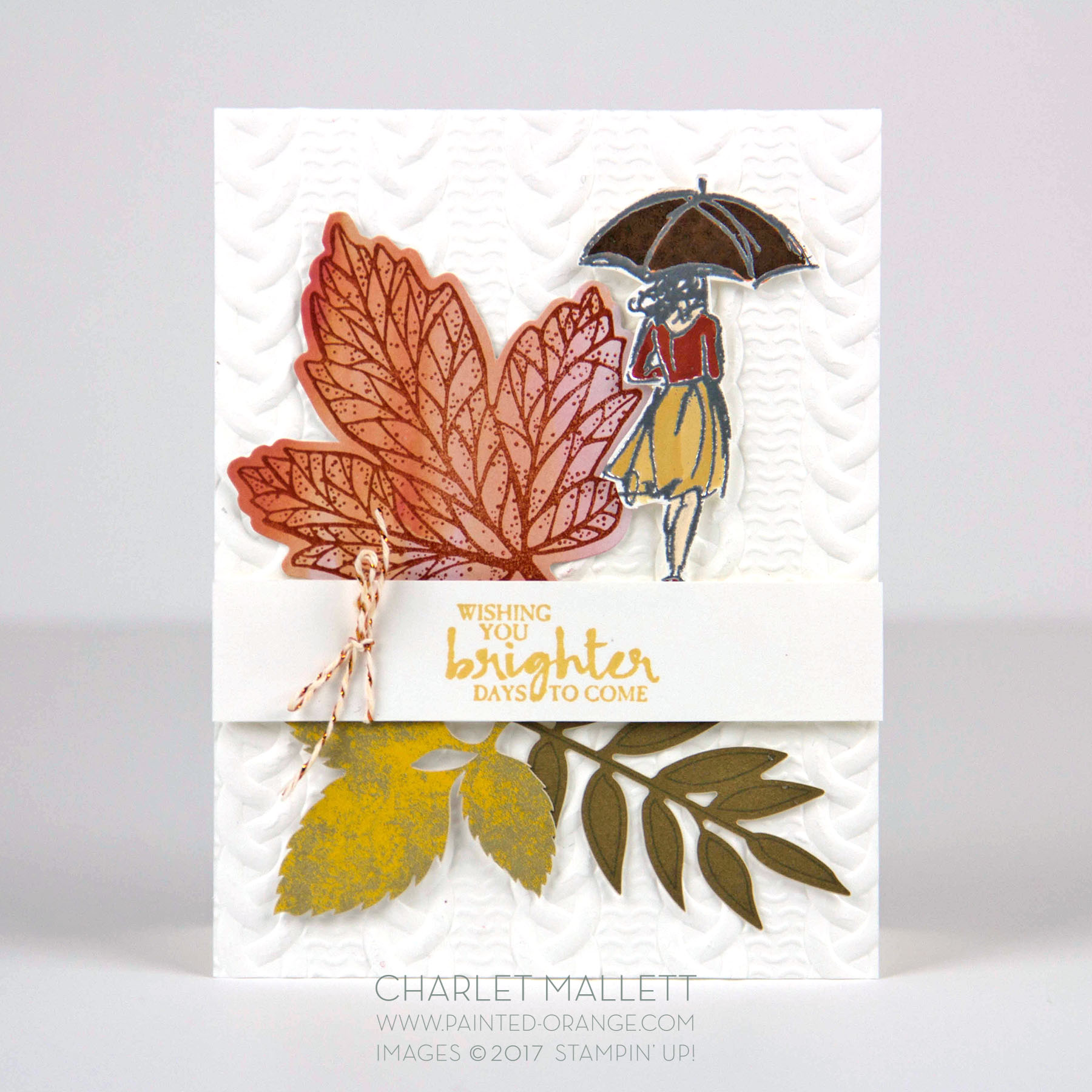 Beautiful You and Layered Leaves Sept 2017 Paper Pumpkin - Charlet Mallett, Stampin' Up!