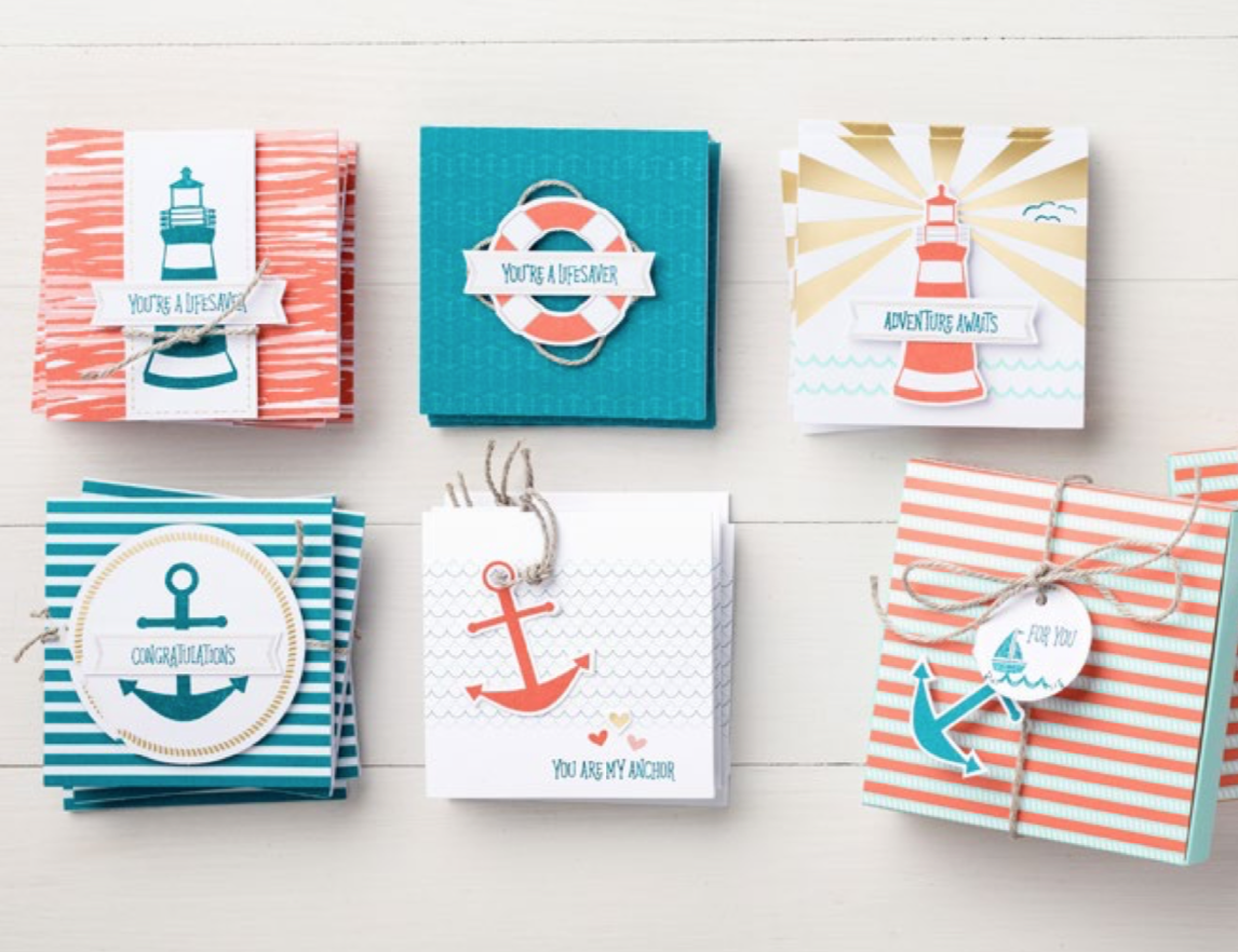 You Are My Anchor paper supplies