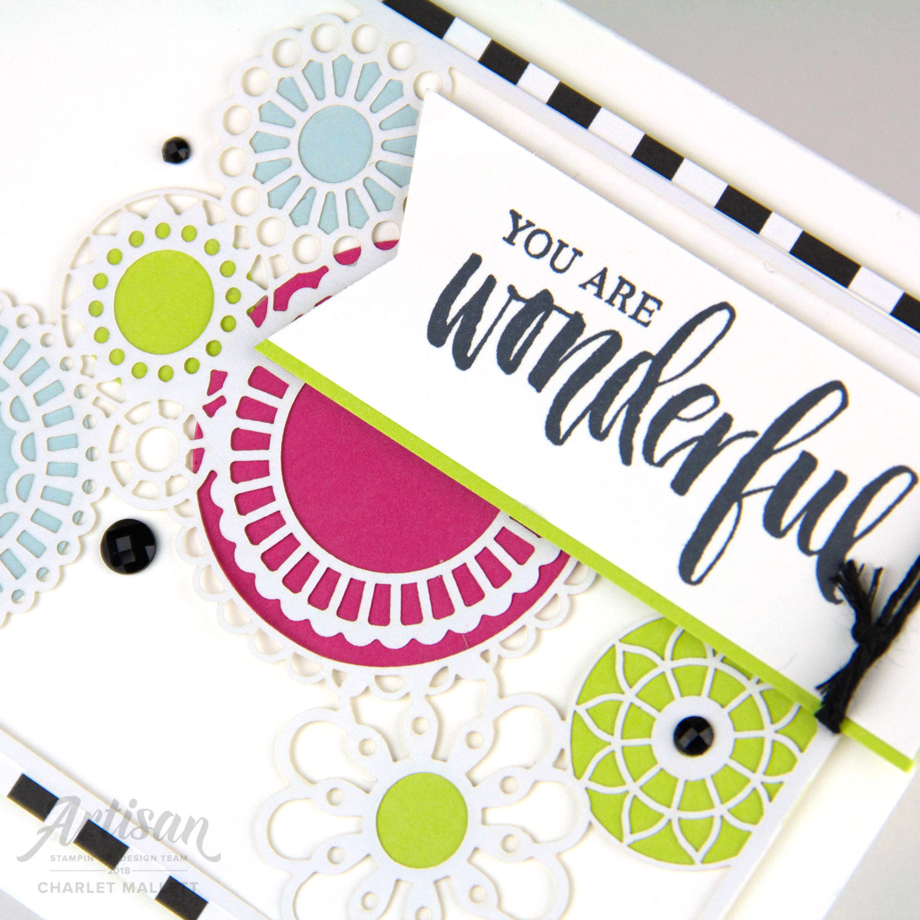 GDP138 - Charlet Mallett, Stampin' Up! Greeting is from Rooted in Nature.