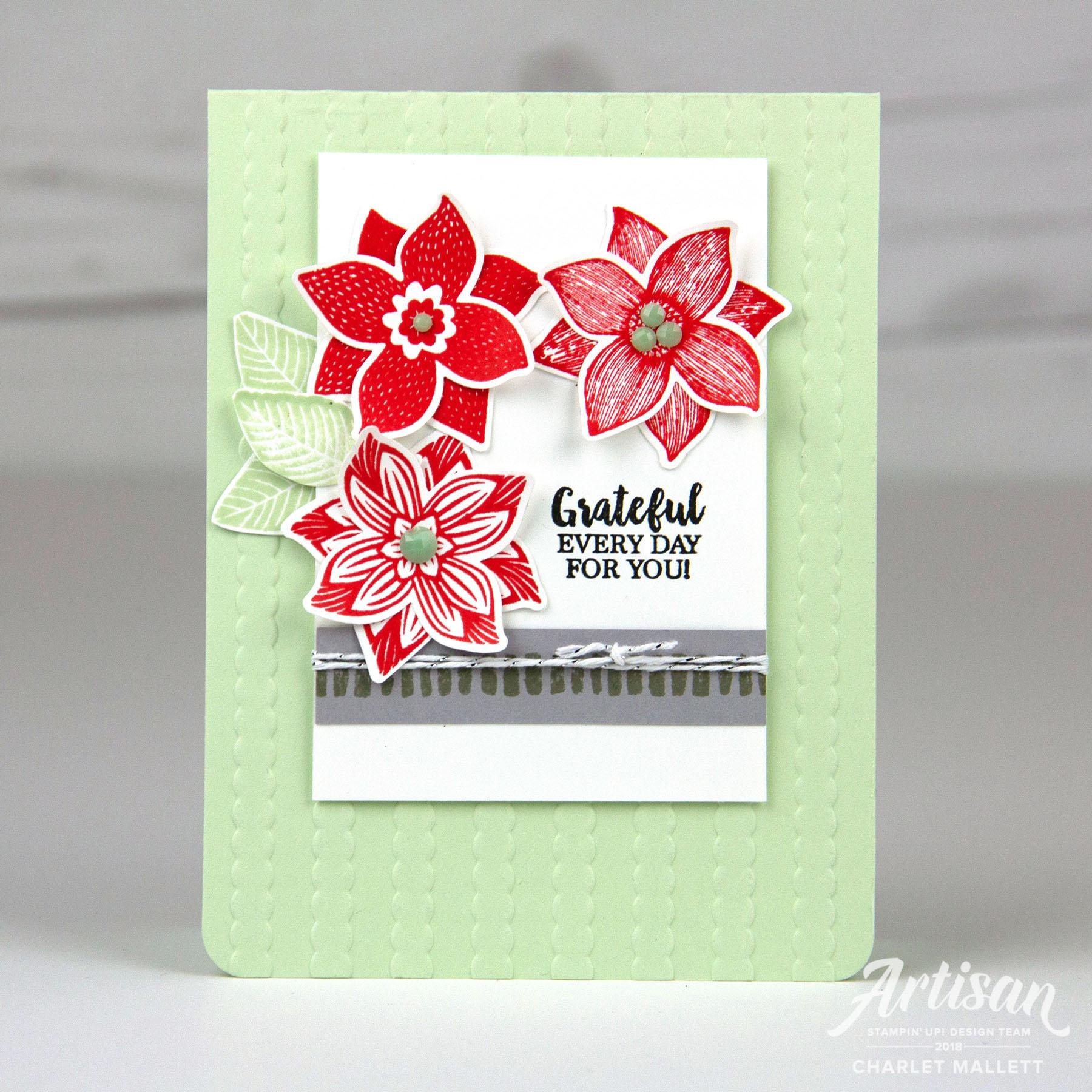 Pop of Petals card - Charlet Mallett, Stampin' Up!