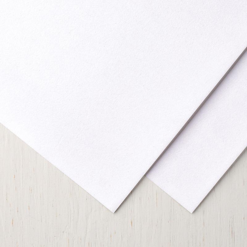 White Velvet Paper