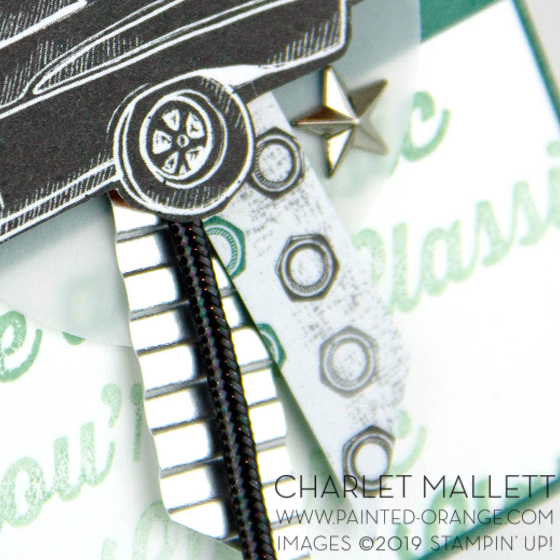 Geared Up Garage - Charlet Mallett, Stampin' Up!