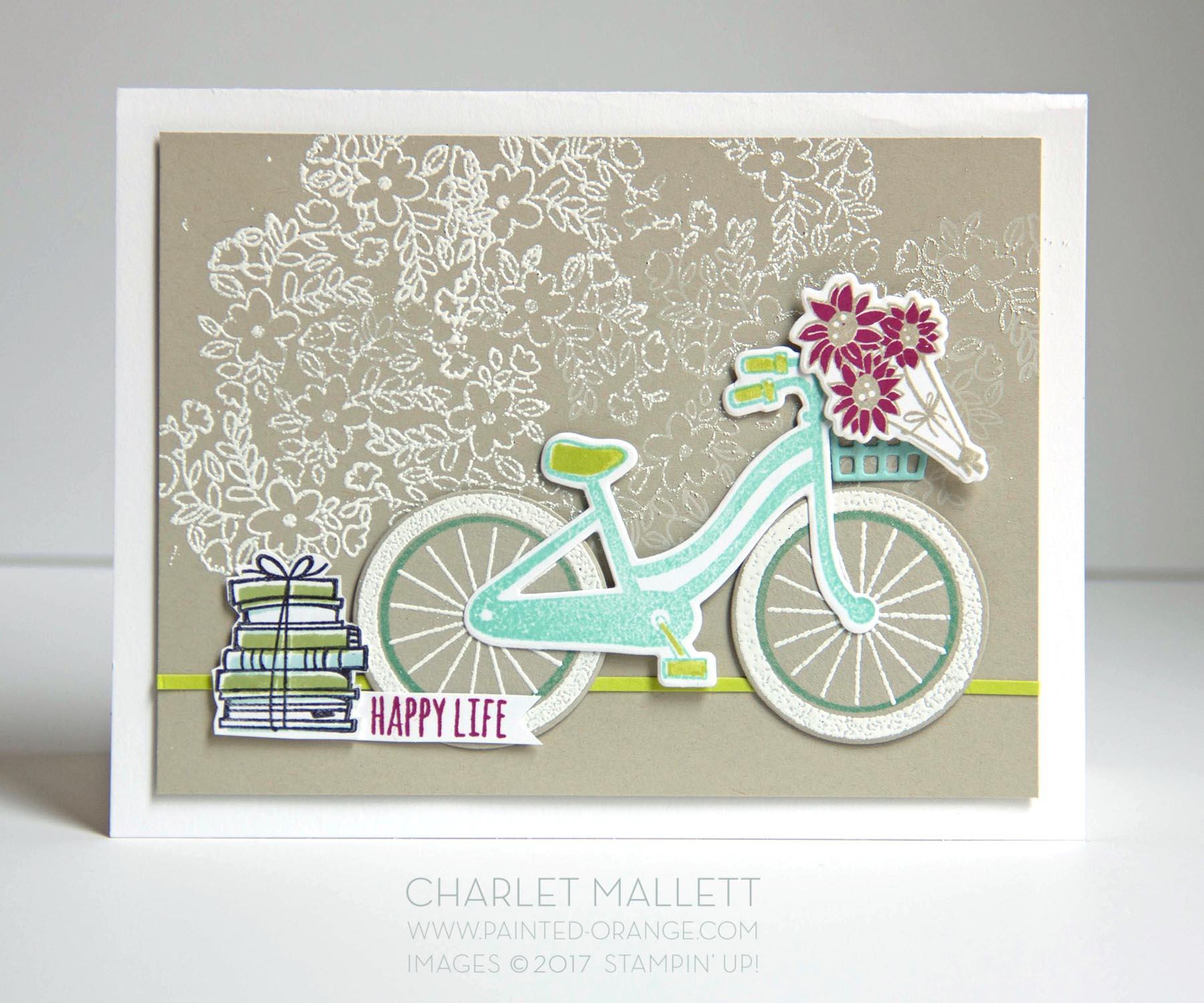 Bike Ride - Charlet Mallett, Stampin' Up!