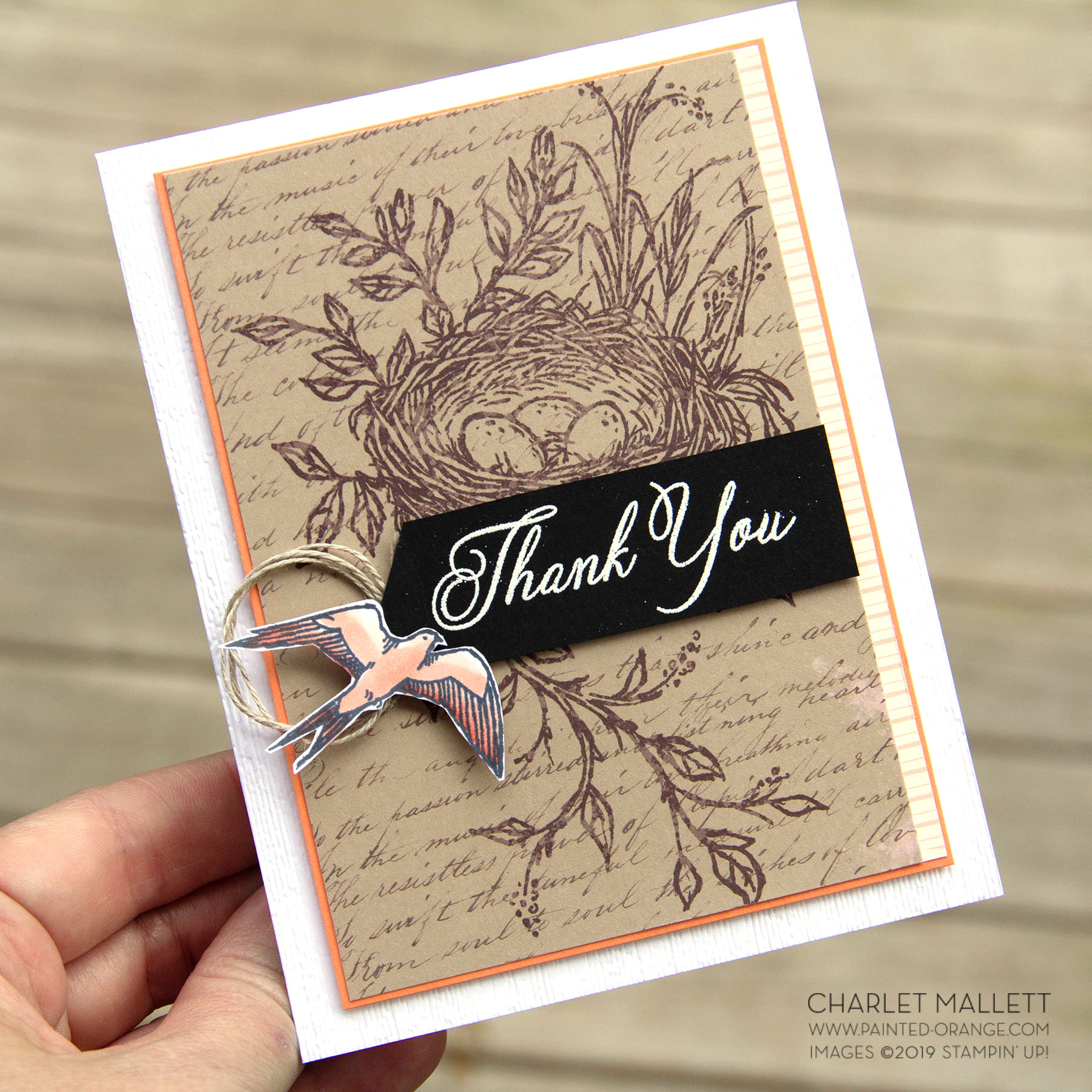 Hugs from Shelli - Paper Pumpkin Alternate - Charlet Mallett, Stampin' Up!
