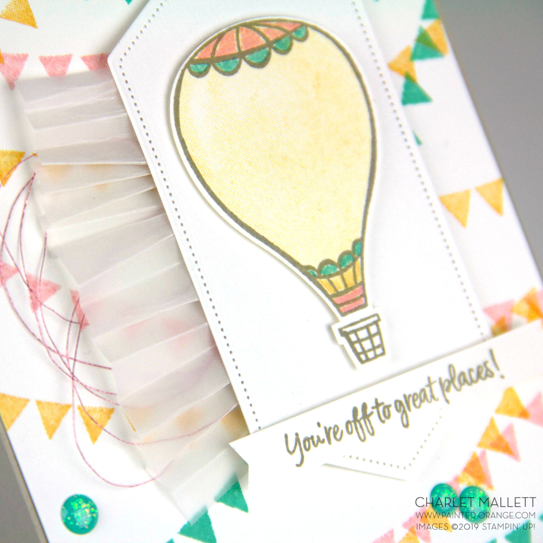Above the Clouds - Charlet Mallett, Stampin' Up!