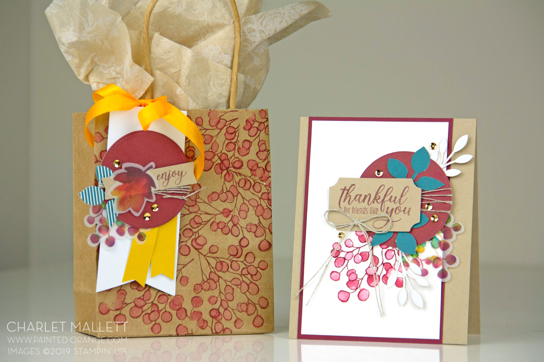 The Gift of Fall Paper Pumpkin Alternate by Charlet Mallet - Stampin' Up!