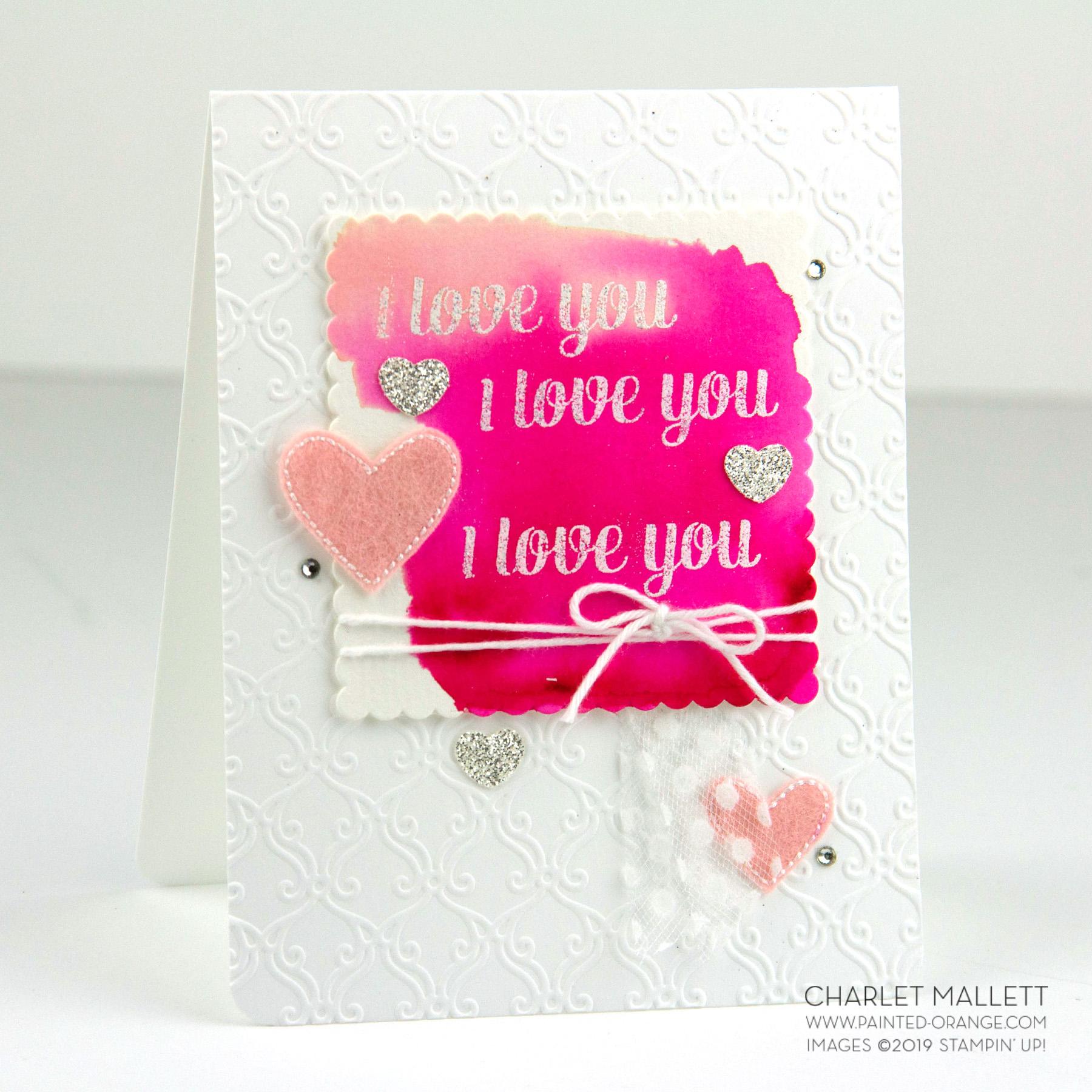 Genuine Gems - Charlet Mallett, Stampin' Up!