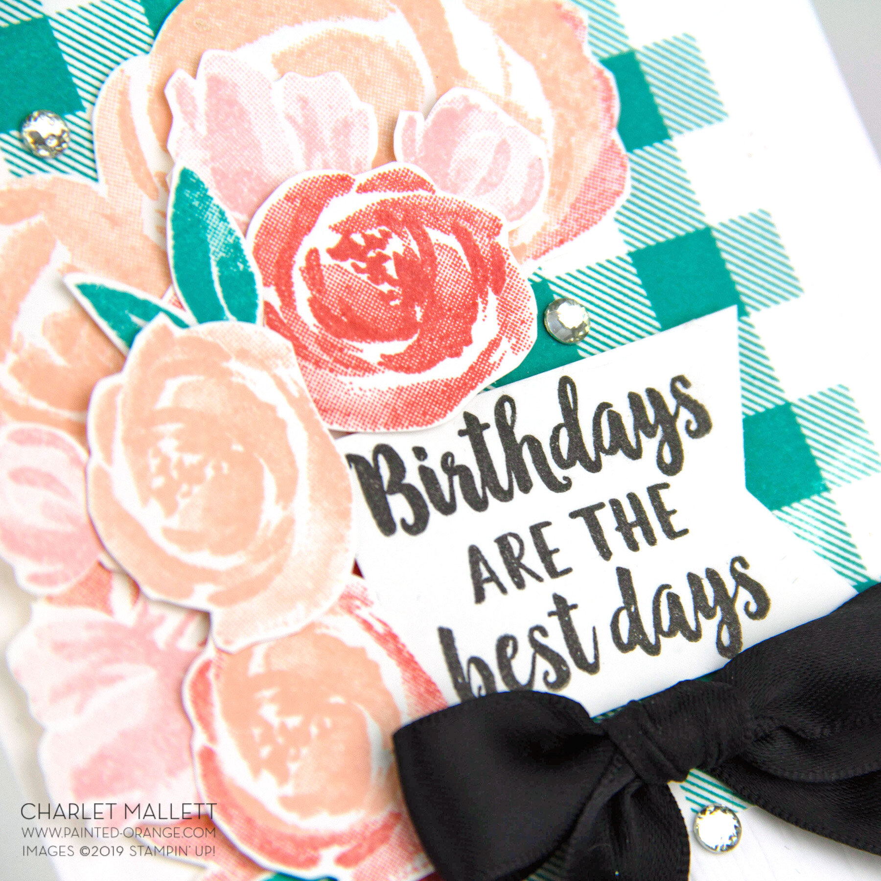 Beautiful Friendship Birthday Card- Charlet Mallett, Stampin' Up!