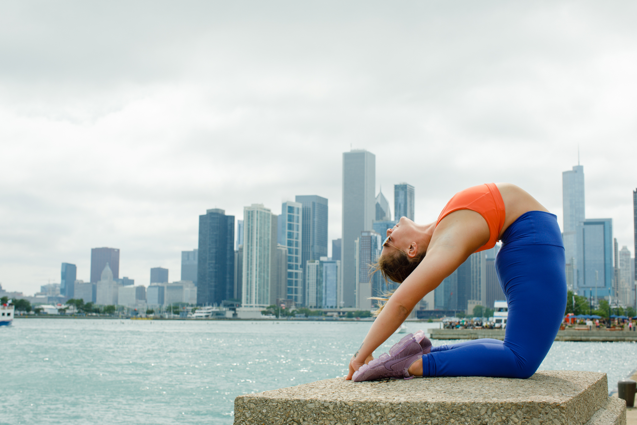 Chicago Skyline Yoga