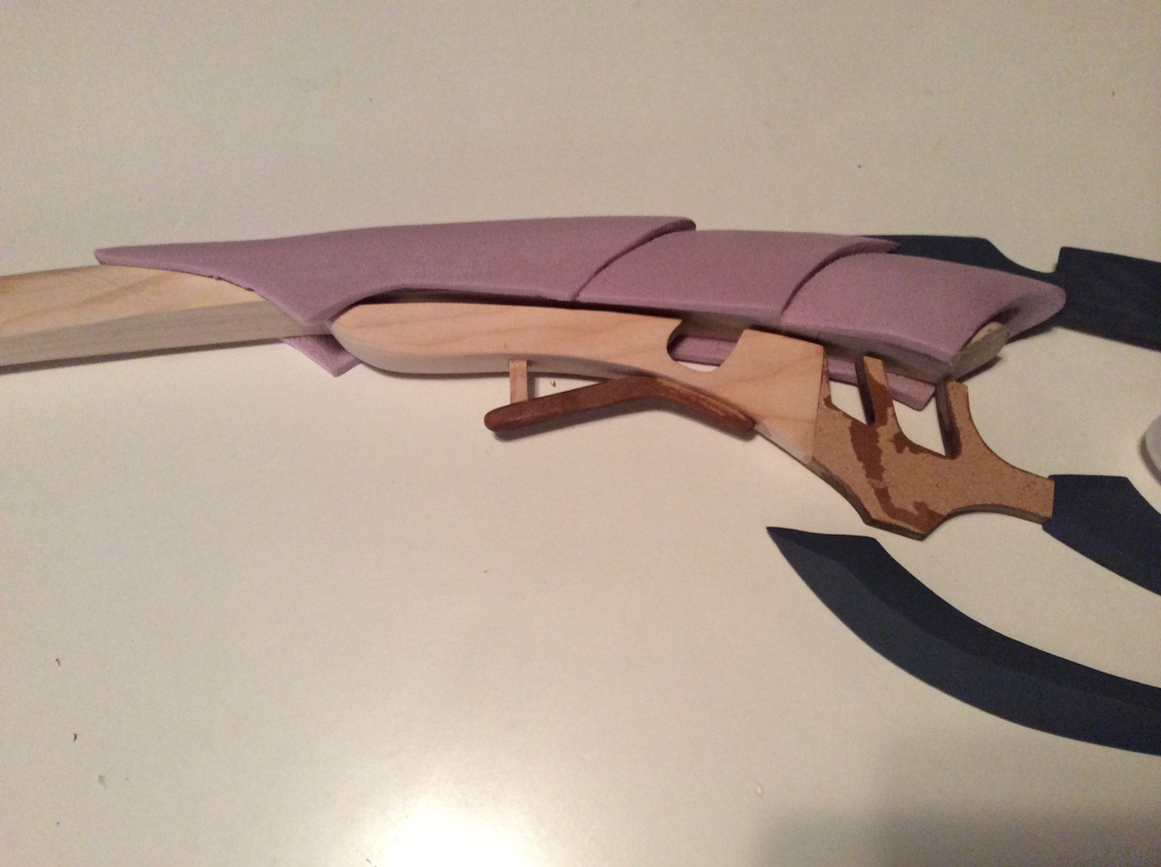 """Test fit of top portion, blades, lower blade assembly and """"orb""""."""