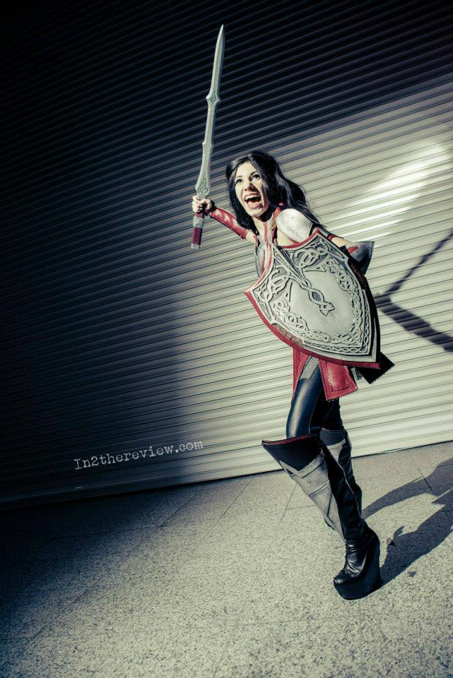 Hildrhien as Lady Sif
