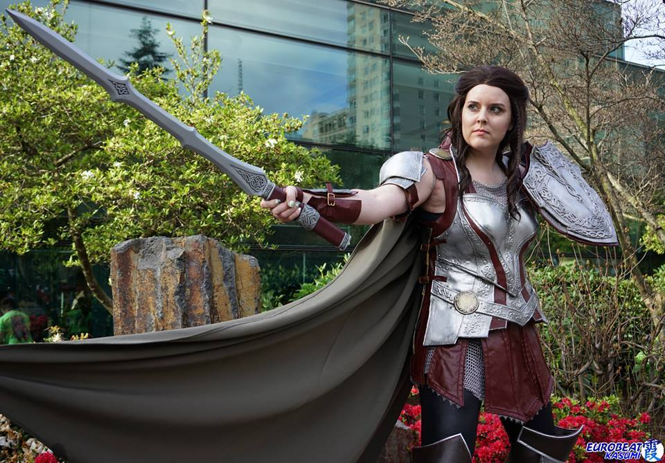 Abi Sue Cosplay as Lady Sif