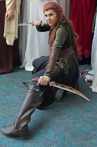 Krista Weekly as Tauriel