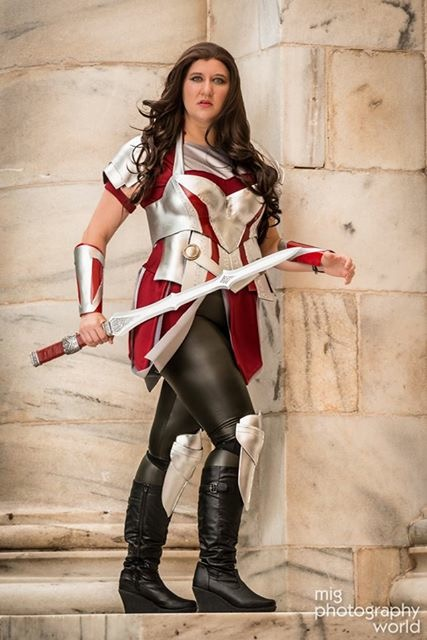 Lady Chaos Cosplay as Sif