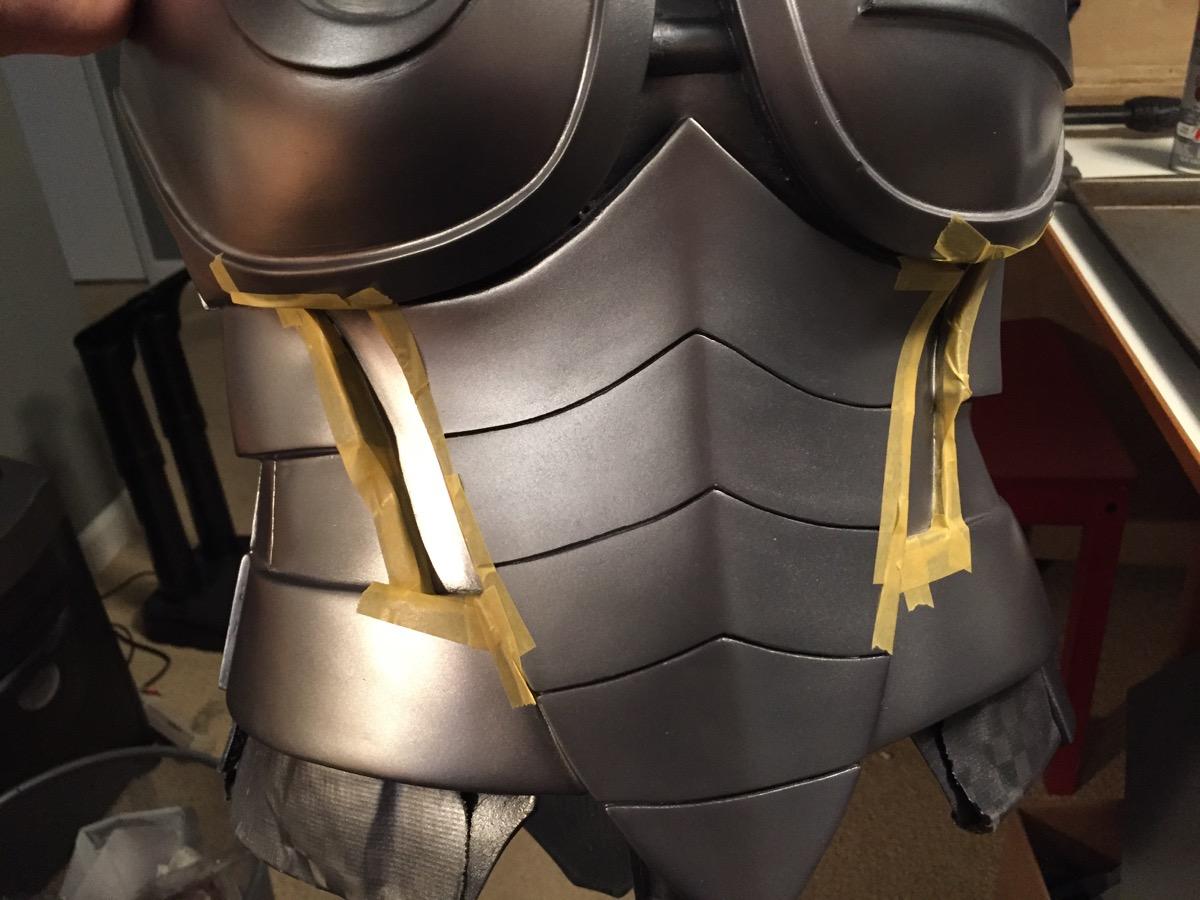 Masking for detailing paint. Tamiya Masking Tape (yellow) is my favorite.