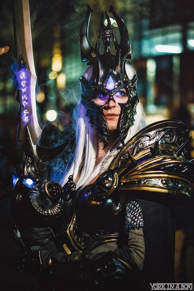 Arthas:  Vertvixen  Photo by:  York In A Box