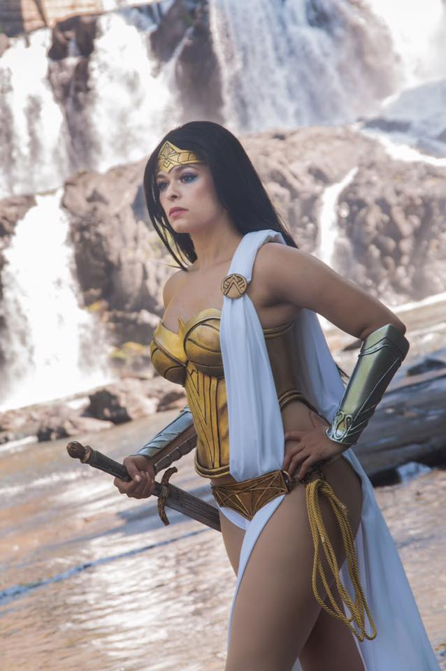 Becka Noel as Wonder Woman