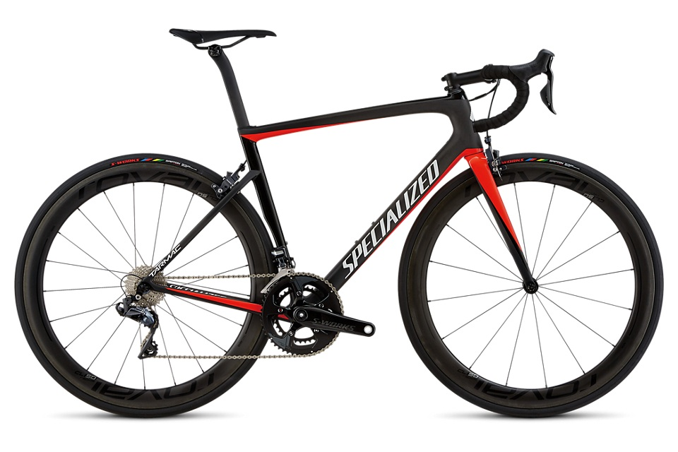 The flagship of the Specialized line, you won't find a smoother, quicker road machine than this. Considered the go to bike of pro's, weekend racers, and recreational warriors world wide, you can't go wrong with this beauty. - specialized tarmac