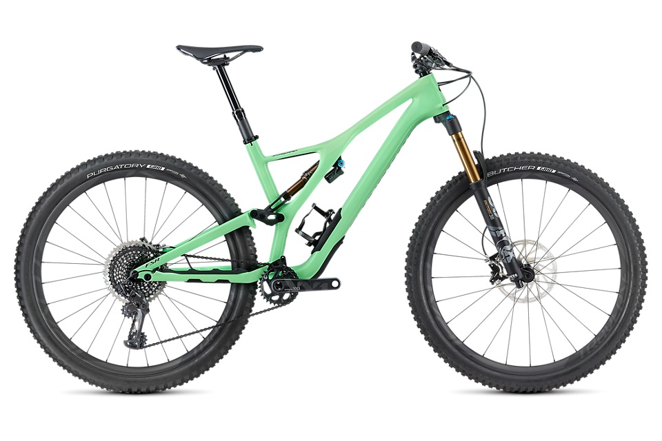 The Stumpjumper is the standard all other mountain bikes are compared to. Full suspension to handle every air, jump, bump, and log you can through at it. Comfortable and aggressive all at the same time. - specialized stumpjumper