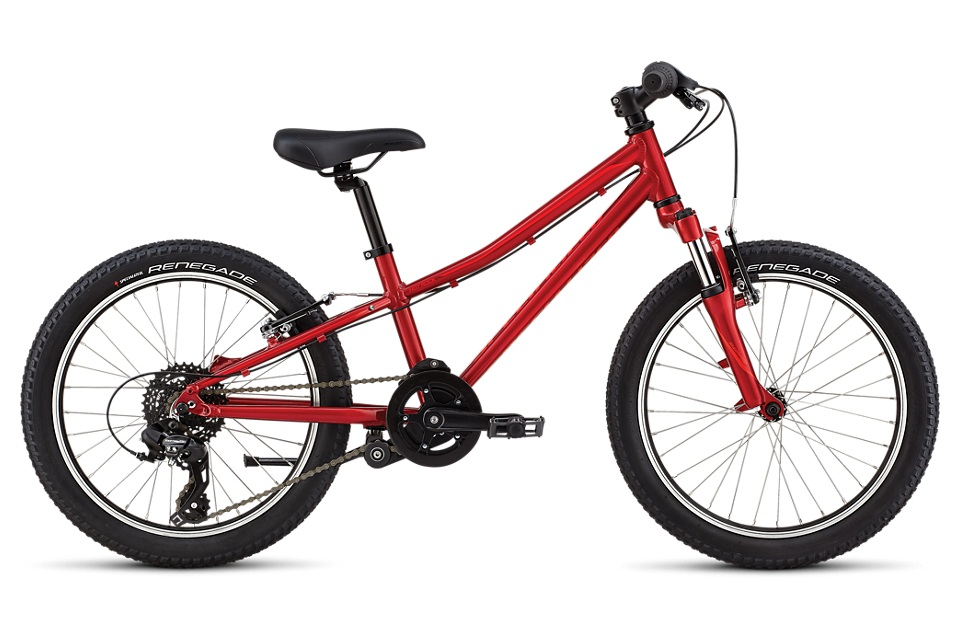 "The 20"" bike that can go anywhere the big kids can, and can keep pace with the adults leading the charge. - specialized hotrock 20"