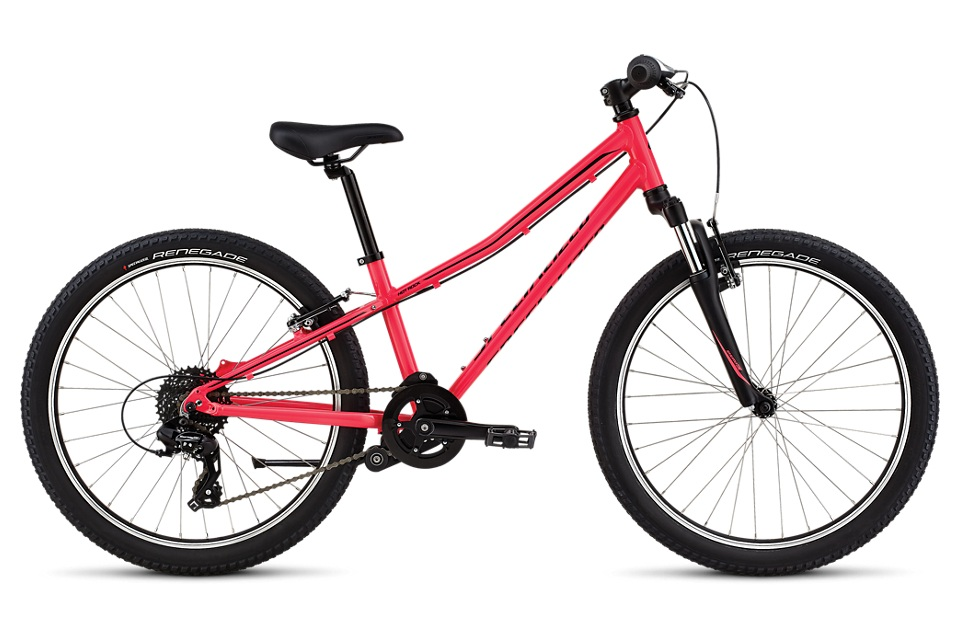 We made our Hotrock 24 with plenty of gear range to tackle the neighborhood hills, and enough front end travel to ride beginner's trails confidently. - specialized hotrock 24