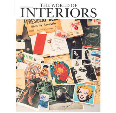 "THE WORLD OF INTERIORS  December 2008, ""Made For Manhattan"", by Carol Prisant; Photographed by: Simon Upton, pp.174-185."