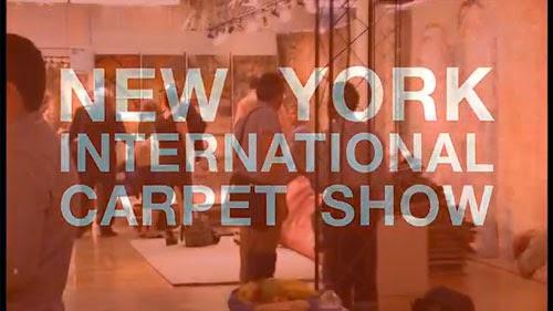 video of Creative Matters at New York International Carpet Show