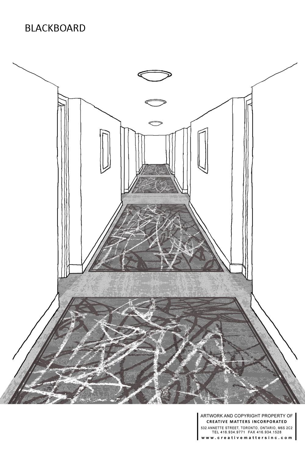 URBAN COLLECTION - BLACKBOARD BY CMI DESIGNER CAROL SEBERT