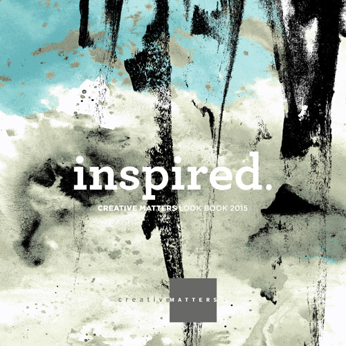 inspired. look book: over 100 designs waiting to become rugs and wallcoverings with WAT 011 on the cover