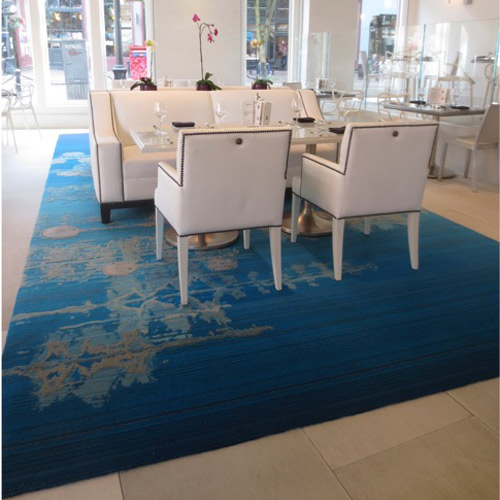 The Creative Matters rug for the Secret Location store in Vancouver, with Chil Interior Design.