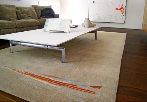 A residential rug with Karen Lim 2008