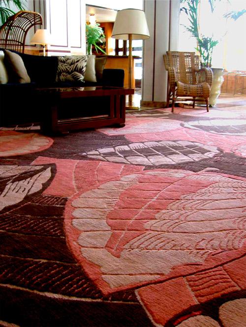 Creative Matters rug for The Raleigh Hotel, Miami Beach with Fernando Santangelo Inc. 2006