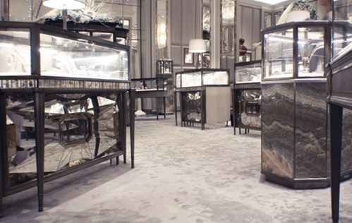 The Creative Matters carpet for the Bergdorf Goodman Jewelry Salons 2015