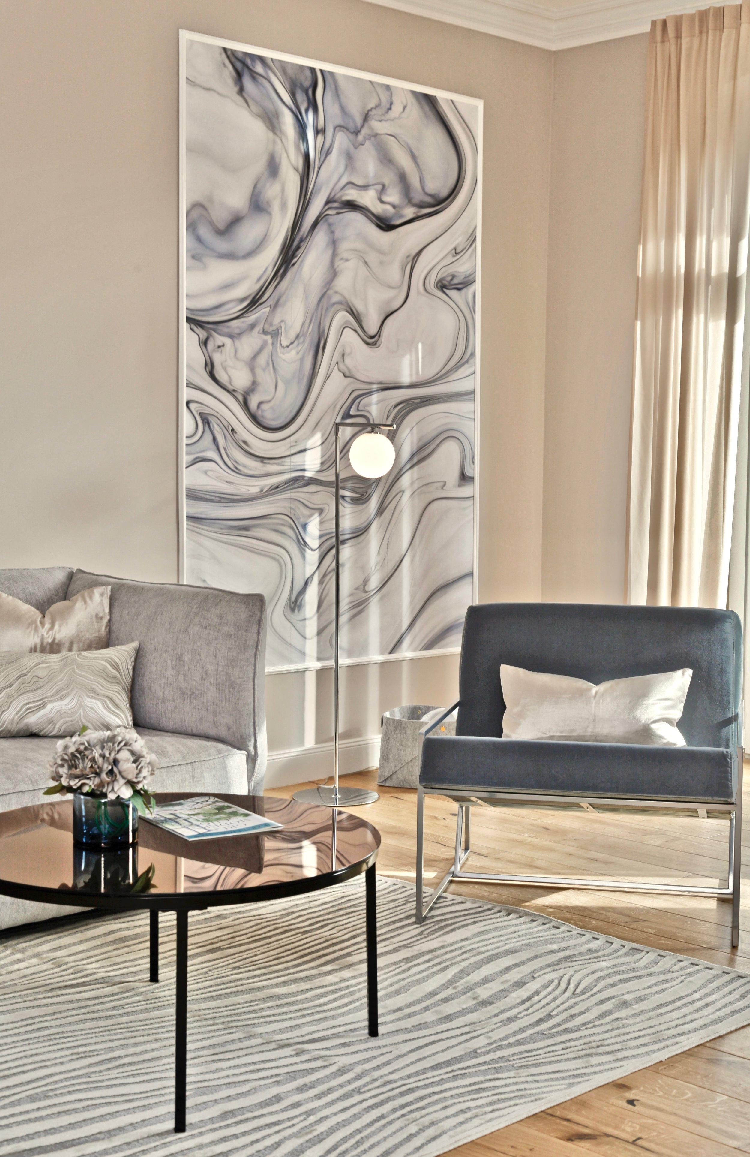 Musterwohnung in residential building in Berlin designed by Revamp