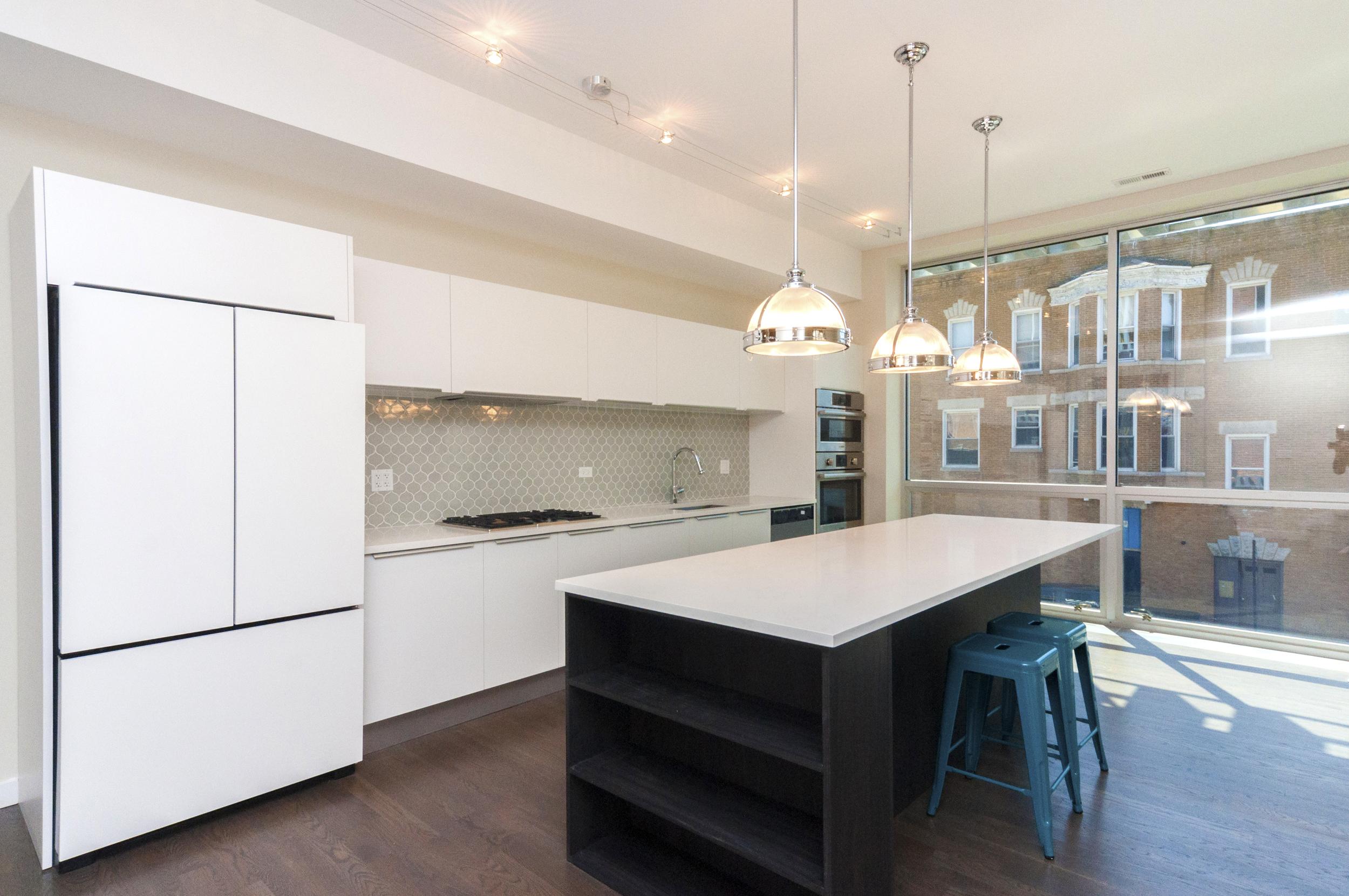1000 North Damen Chicago Interior Kitchen TARIS Real Estate