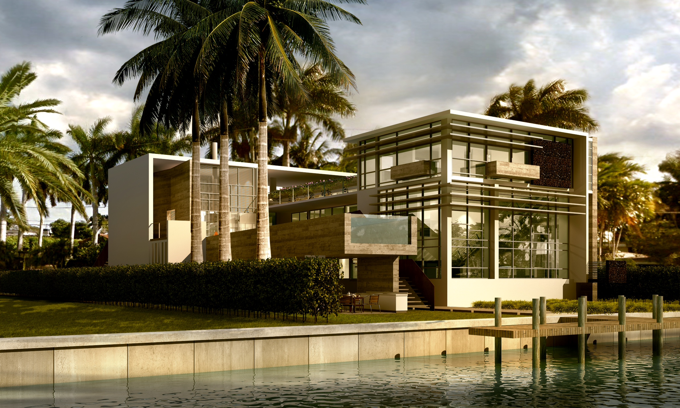 350 South Hibiscus Miami Florida Exterior Render TARIS Real Estate