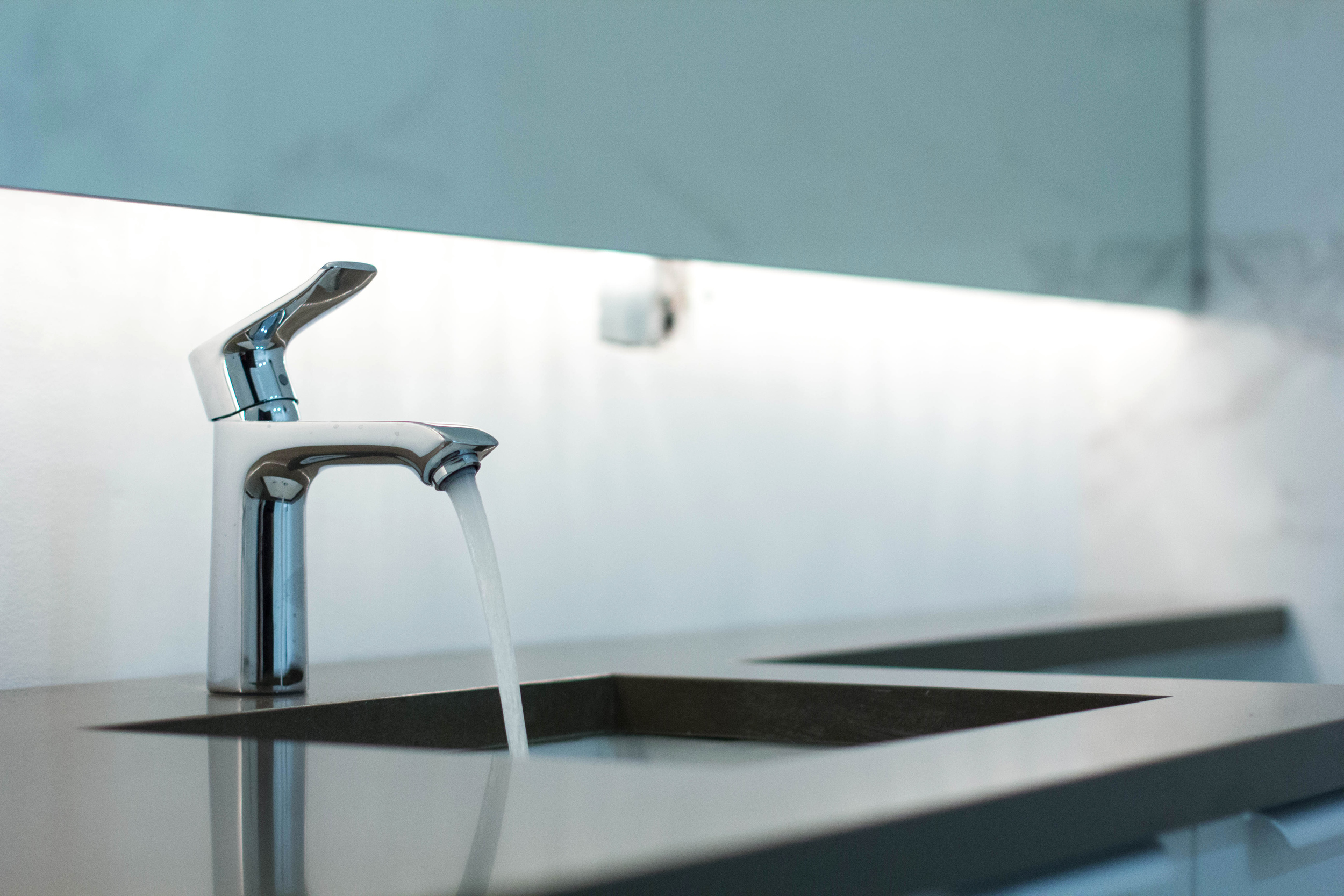 2440 West Ohio Chicago Interior Bathroom Sink Detail TARIS Real Estate