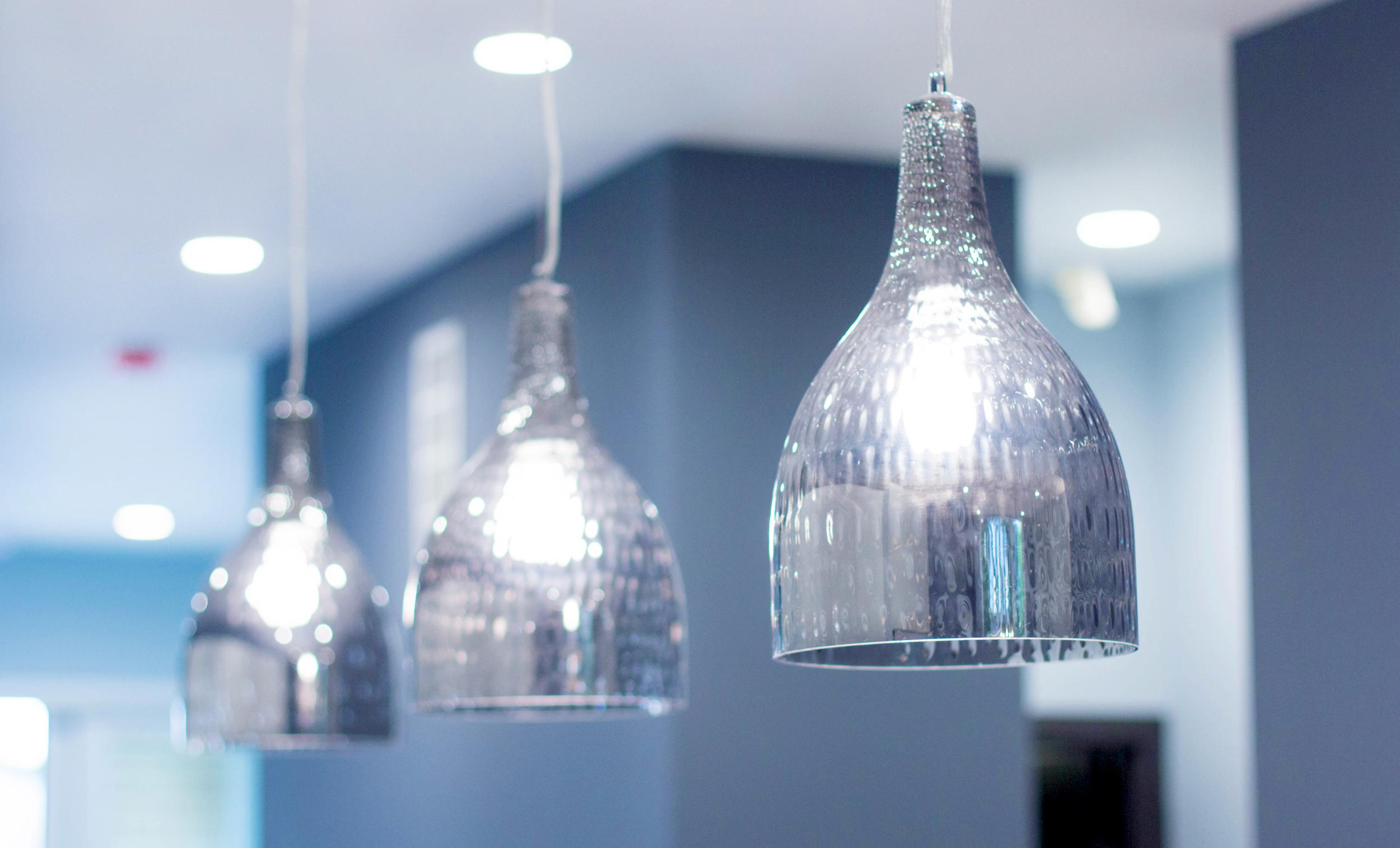 2440 West Ohio Chicago Interior Kitchen Lights Detail TARIS Real Estate